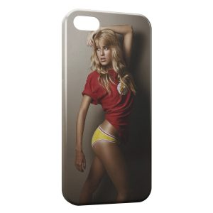 Coque iPhone 4 & 4S Flash Sexy Girl