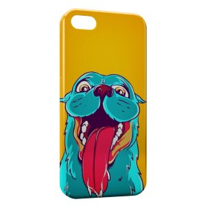 Coque iPhone 4 & 4S Funny Dog Cartoon