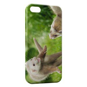 Coque iPhone 4 & 4S Furet Drôle Fufu Mignon