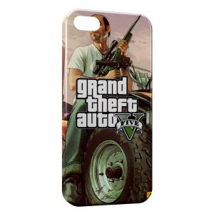 Coque iPhone 4 & 4S GTA 5 2