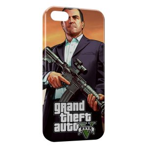 Coque iPhone 4 & 4S GTA 5 3