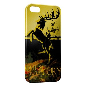 Coque iPhone 4 & 4S Game of Thrones Ours is the Fury Baratheon
