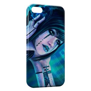 Coque iPhone 4 & 4S Girl Music High Tech