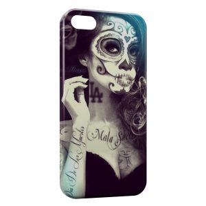 Coque iPhone 4 & 4S Girl Tatouages