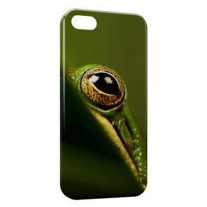 Coque iPhone 4 & 4S Grenouille Œil