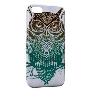 Coque iPhone 4 & 4S Hiboux Design Art