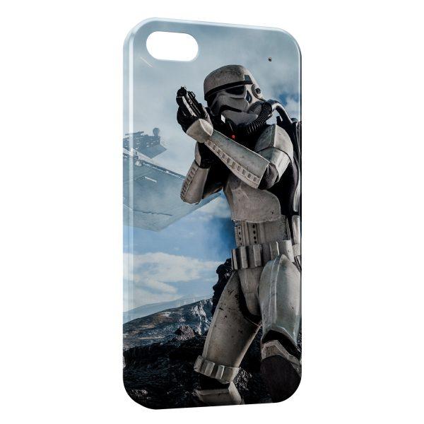 Coque iPhone 4 & 4S Ice Stormtrooper Star Wars