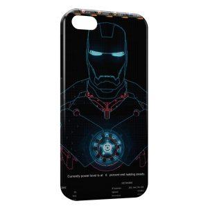Coque iPhone 4 & 4S Iron Man Robot