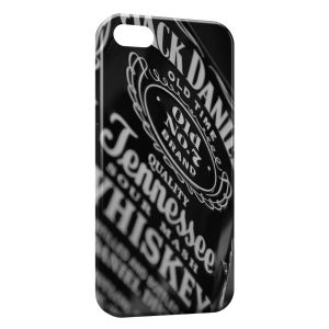 Coque iPhone 4 & 4S Jack Daniels Black Vintage