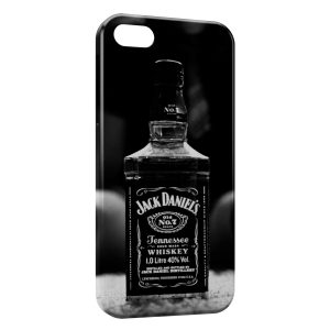 Coque iPhone 4 & 4S Jack Daniel's Black & White Sexy Girl