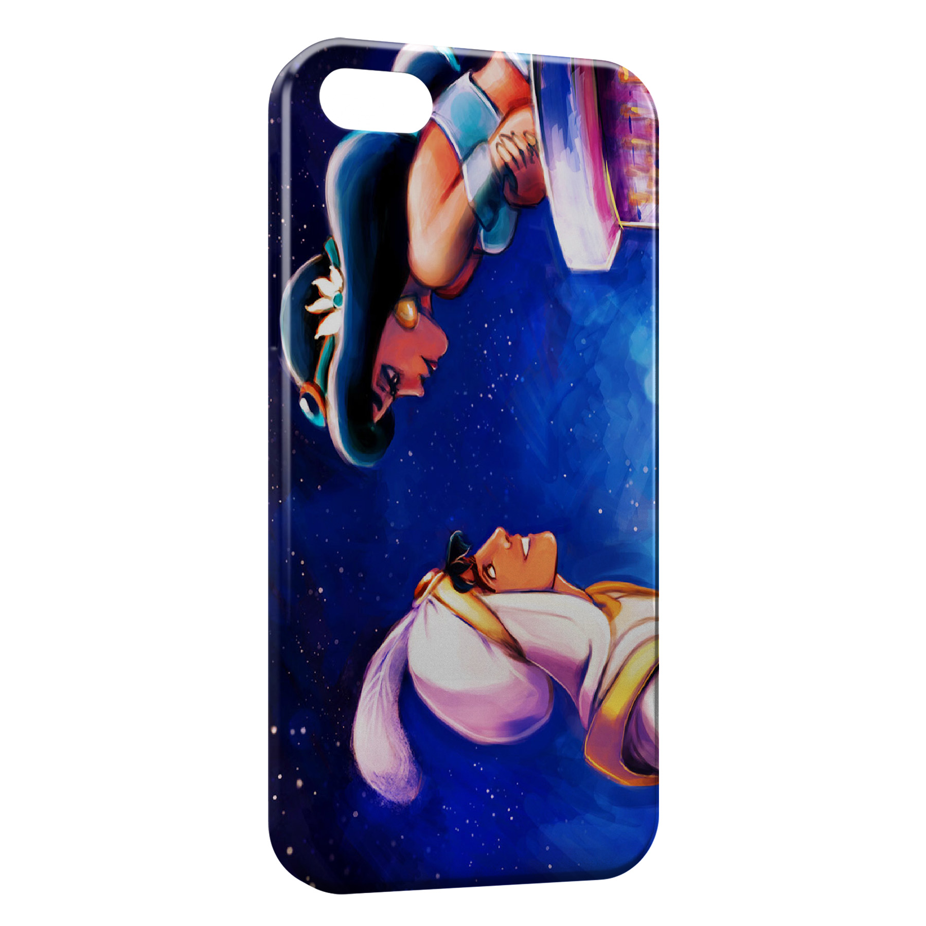 Coque iPhone 4 & 4S Jasmine et Aladdin