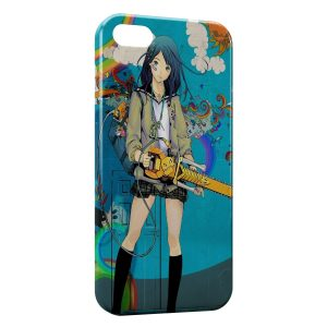 Coque iPhone 4 & 4S Kawaii Girl 3