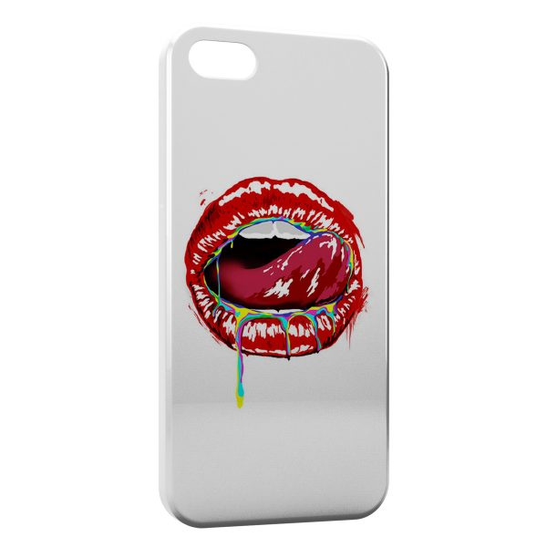 Coque iPhone 4 & 4S Kiss Color