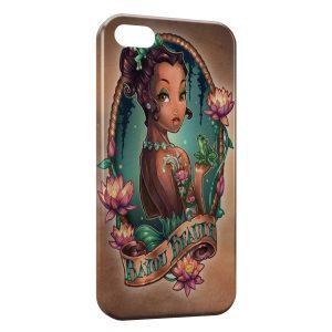 Coque iPhone 4 & 4S La Princesse et la Grenouille Punk