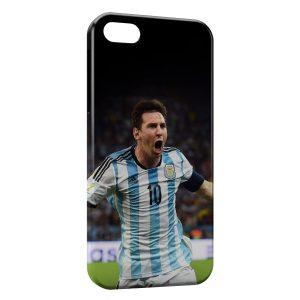 Coque iPhone 4 & 4S Lionel Messi Football 5
