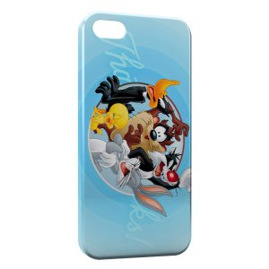 Coque iPhone 4 & 4S Looney Tunes Groupe