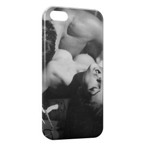 Coque iPhone 4 & 4S Love is Power 4 Vintage