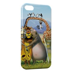Coque iPhone 4 & 4S Madagascar Cartoon