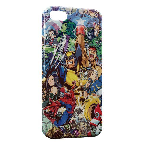 Coque iPhone 4 & 4S Marvel
