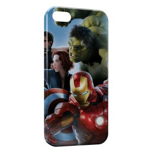 Coque iPhone 4 & 4S Marvel Iron Man Captain America Hulk