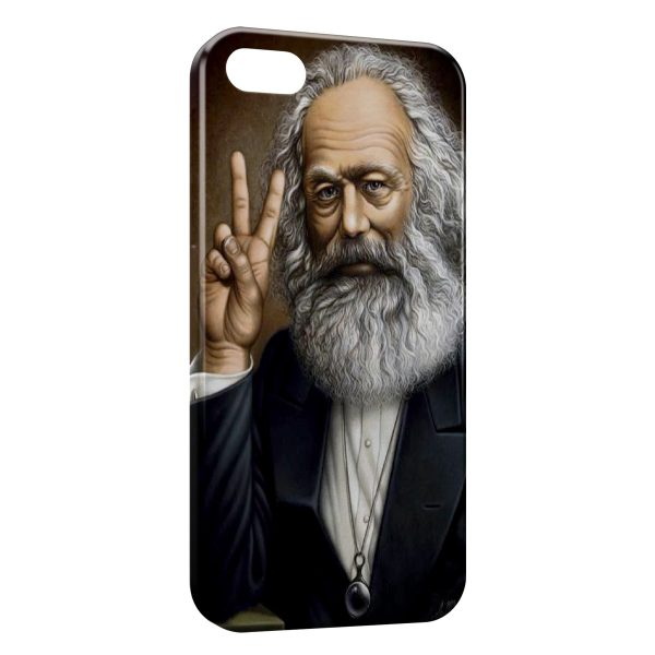 Coque iPhone 4 & 4S Marx Peace