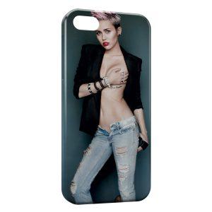Coque iPhone 4 & 4S Miley Cyrus 5