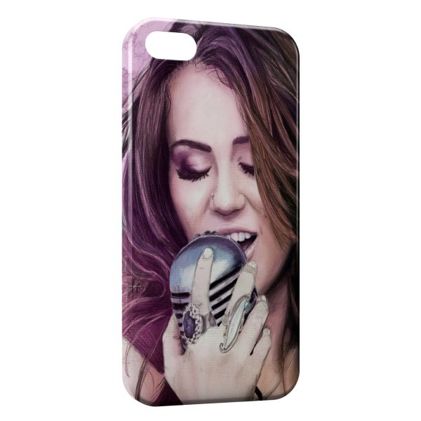 Coque iPhone 4 & 4S Miley Cyrus 6