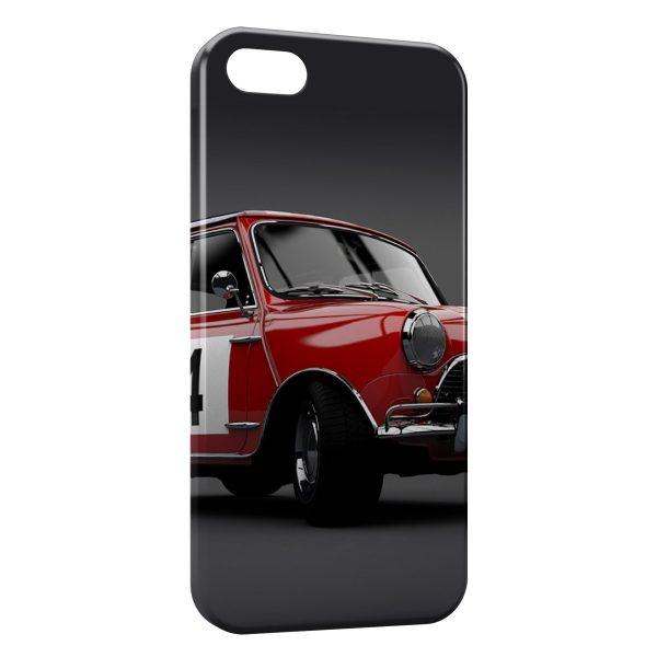 Coque iPhone 4 & 4S Mini Cooper Rouge