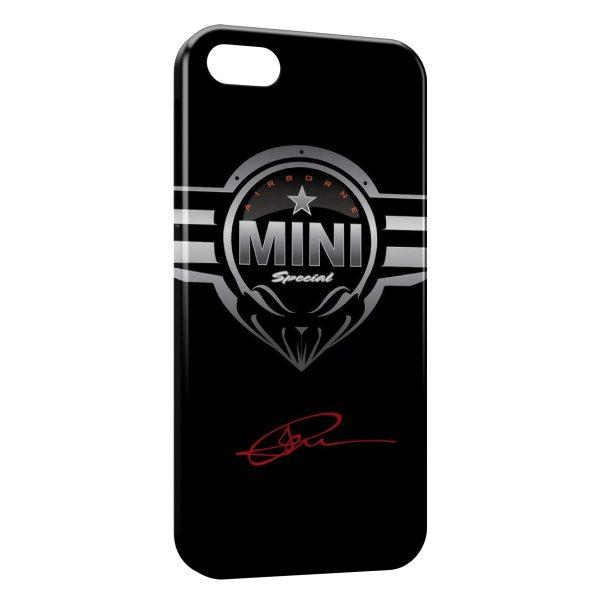Coque iPhone 4 & 4S Mini Cooper Voiture Logo