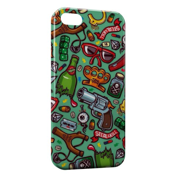 Coque iPhone 4 4S Mini Style Objects 600x600