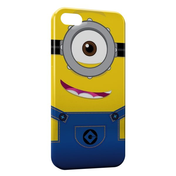 Coque iPhone 4 4S Minion Art 600x600