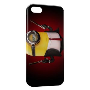 Coque iPhone 4 & 4S Minion Hitman