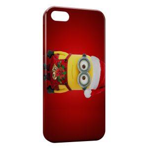 Coque iPhone 4 & 4S Minion Noel
