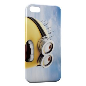 Coque iPhone 4 & 4S Minion Sky