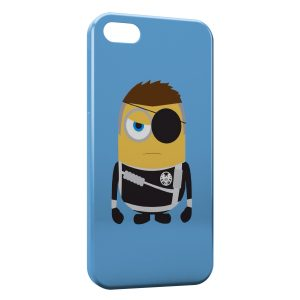 Coque iPhone 4 & 4S Minion Style 3