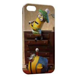 Coque iPhone 4 & 4S Minions 4