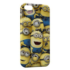 Coque iPhone 4 & 4S Minions Art Design