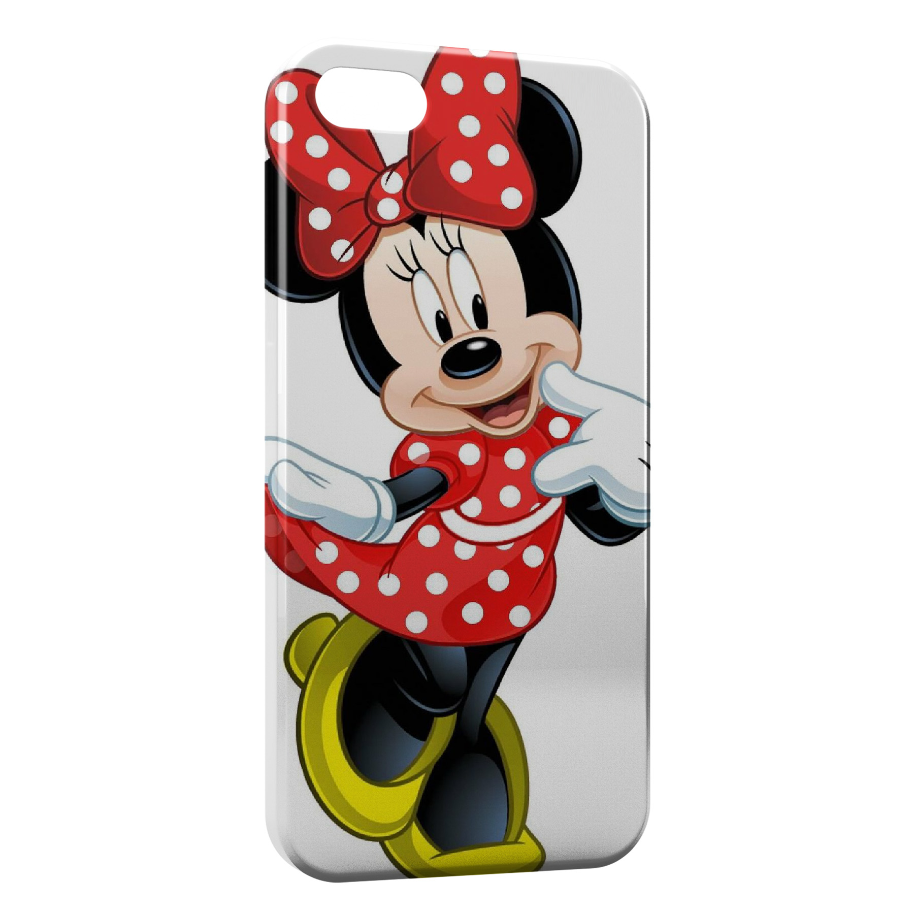 Coque iPhone 4 4S Minnie Mickey 4