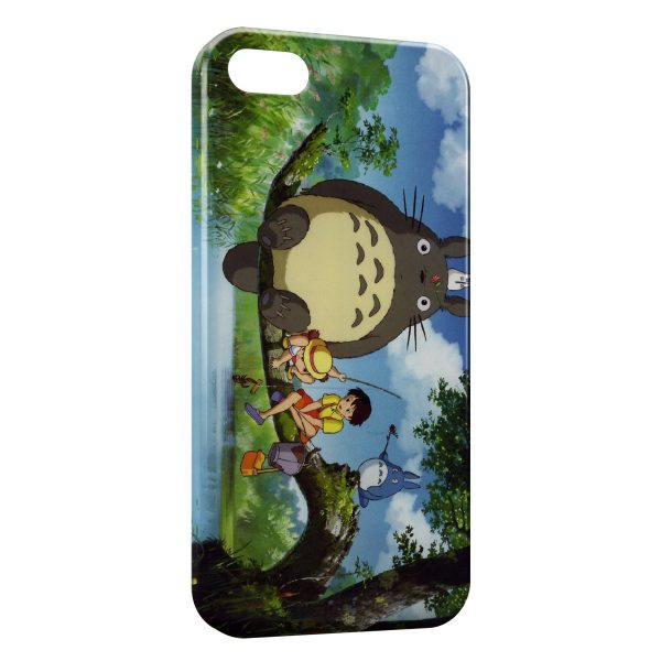Coque iPhone 4 & 4S Mon voisin Totoro Manga Anime