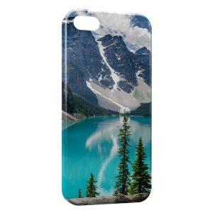 Coque iPhone 4 & 4S Montagne & Mer 2