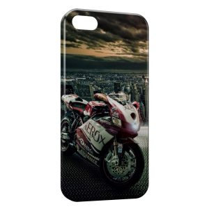 Coque iPhone 4 & 4S Moto & City Design