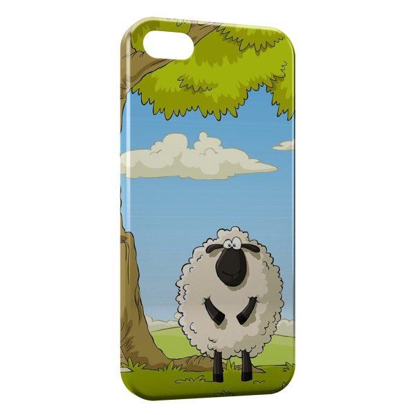 Coque iPhone 4 & 4S Mouton Cartoon
