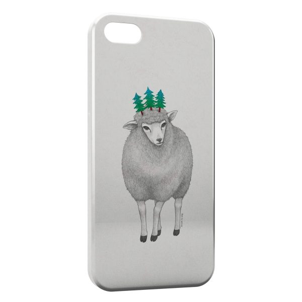 Coque iPhone 4 & 4S Mouton Style Design