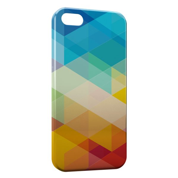 Coque iPhone 4 & 4S Multicolor 3D Design