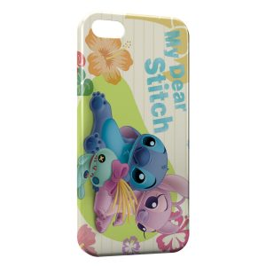 Coque iPhone 4 & 4S My Dear Stitch