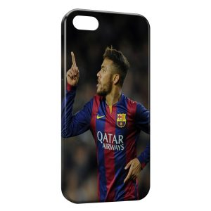 Coque iPhone 4 & 4S Neymar Barcelone Football