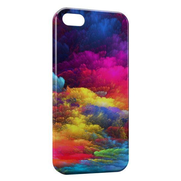 Coque iPhone 4 & 4S Nuages de peinture