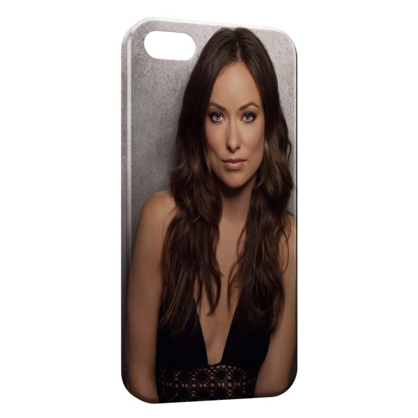 Coque iPhone 4 & 4S Olivia Wilde