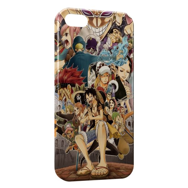 Coque iPhone 4 & 4S One Piece Manga 36