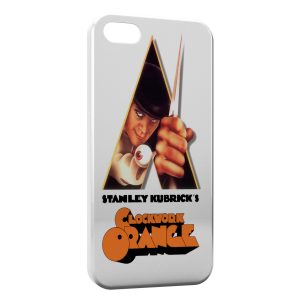 Coque iPhone 4 & 4S Orange Mecanique